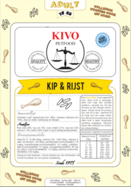 Kip & Rijst Adult 15kg