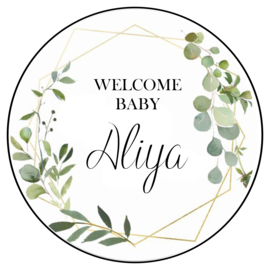 Welcome baby (35st.)
