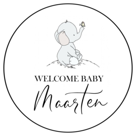 Olifantje welcome baby (35st.)