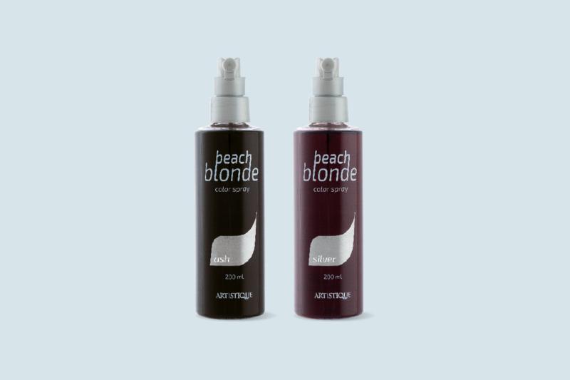 Beach blond color Spray