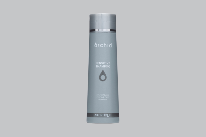 Orchid sensitive shampoo sulfaat en parfum vrij