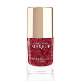 Nail Lacquer Gel Finish Pearly Raspberry
