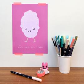 print la vie en rose