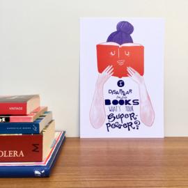 print I disappear into books