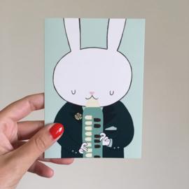 dubbele kaart melodica bunny