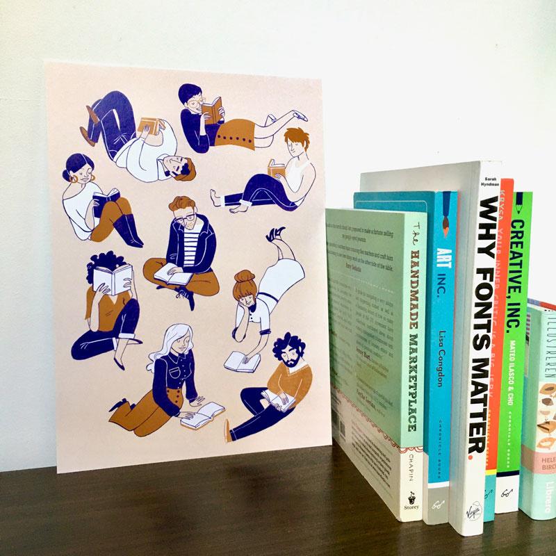 print book club