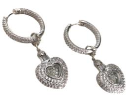 Silver Zirconia Heart