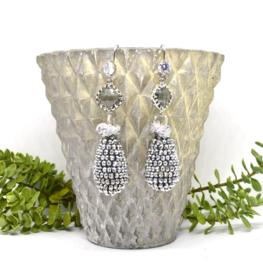 Crystal Silver Drops