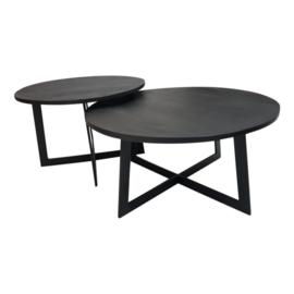 Salontafel Austin set van 2 | Black