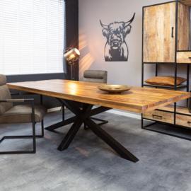 Eetkamertafel Denver | Rechthoek matrixpoot | 160 cm