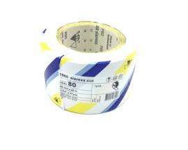 Schuurpapier op rol Siarexx 95 MM x 25 M K80