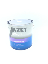 Azet Integra watergedragen Grondlak 2.5 Liter ( Gewenste kleur)