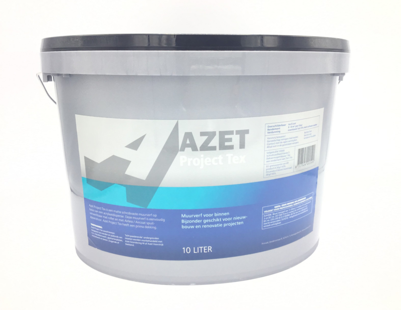 Azet Project Tex      (10L Wit)