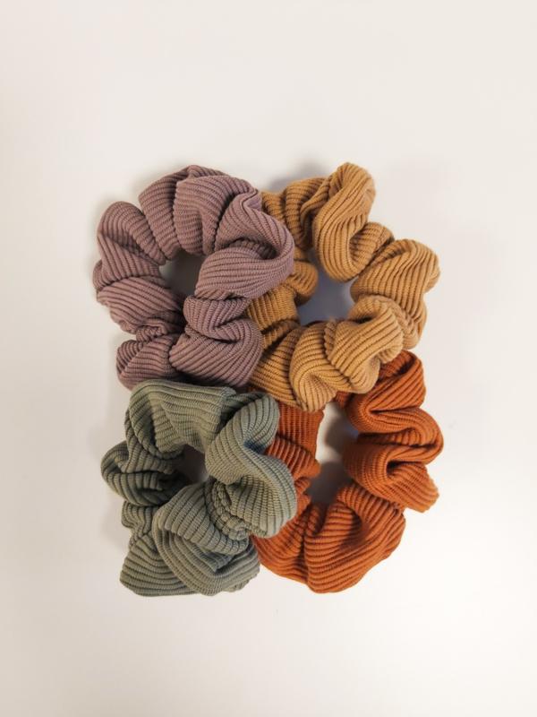 Suki scrunchie rib - keuze uit 4 kleurtjes