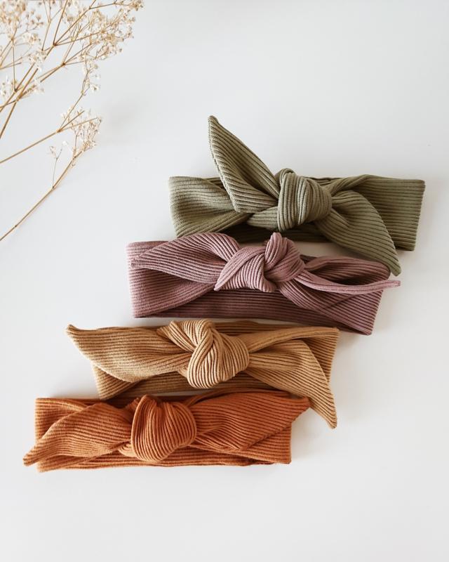 Suki haarbandje rib - keuze uit 4 kleurtjes