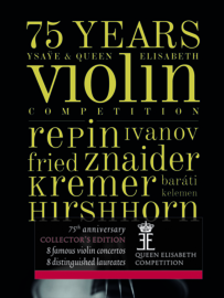 4CD / 75 Years Ysaÿe & Queen Elisabeth VIOLIN Competition
