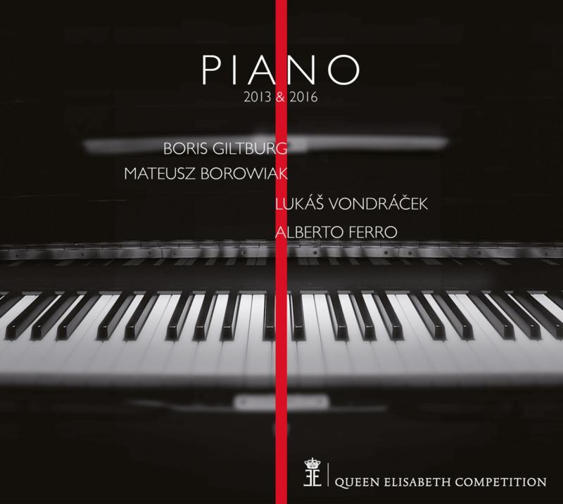 4CD / Piano 2013 & 2016 [Giltburg - Borowiak - Vondráček - Ferro]