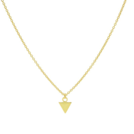 Karma - Necklace Triangle Gold Plated