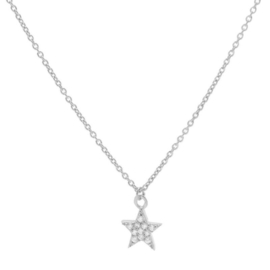 Karma - Necklace Zirconia Star Sterling Silver