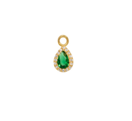 Eline Rosina - Phoenix Single Pendant Drop Emerald