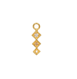 Eline Rosina - Phoenix Single Pendant Gold Square