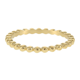Kalli - Ring balls gold color  4045G