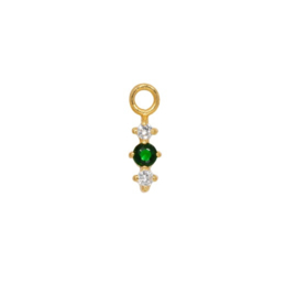 Eline Rosina - Phoenix Single Pendant Emerald Crystal