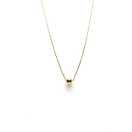 Karma - Necklace Ball Gold Plated