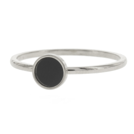 Kalli - Ring black dot  4049S
