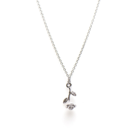 Karma - Necklace Rose Sterling Silver