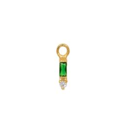 Eline Rosina - Single Pendant Small Emerald