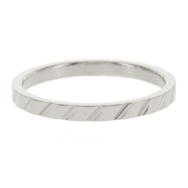 Kalli - Ring skew stripes 4054S