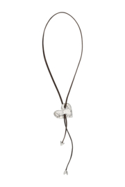 Uno de 50 - Necklace Bonnie & Clyde Heart