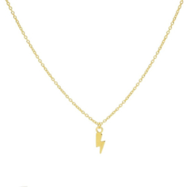 Karma - Necklace Lightning Gold Plated