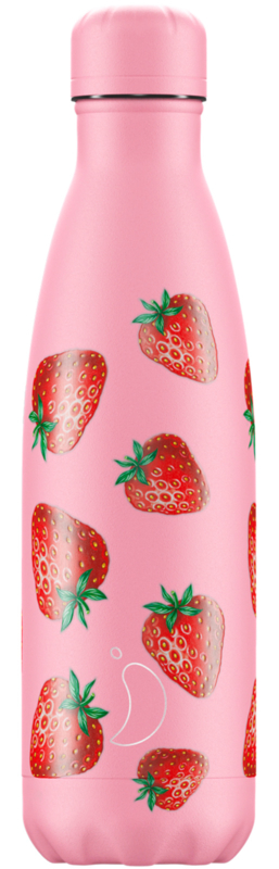 Chilly's Bottle - Strawberry 500ml