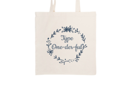 Tote bag - Type One-der-ful