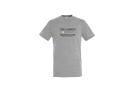 T shirt - Type 1 diabetes
