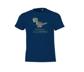 T shirt - My dinosaur ate my pancreas