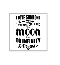 tegel - I love someone with type one diabetes