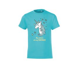 T shirt - My unicorn ate my pancreas