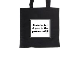 Tote bag - Diabetes is...