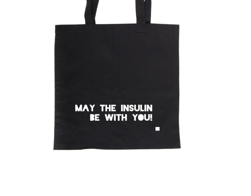 Tote bag - May the insulin be with you!