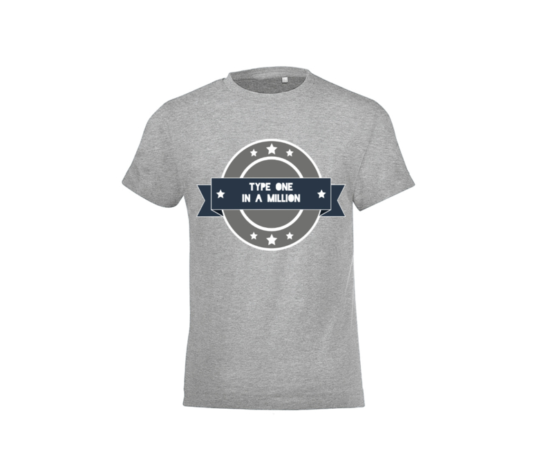 T shirt - Type one in a million