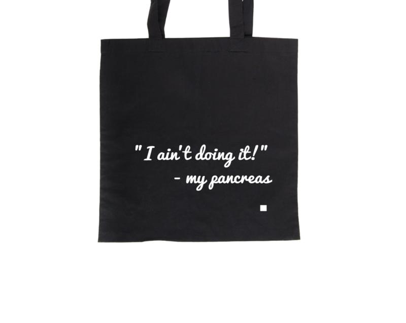 Tote bag - I ain't doing it!