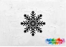 Sneeuwvlok sticker