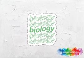 Biology 2 sticker