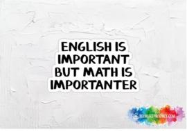 English 2 sticker