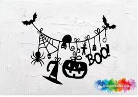Halloween slinger sticker