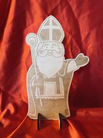 Houten Sinterklaas