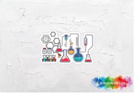Chemistry  2 sticker